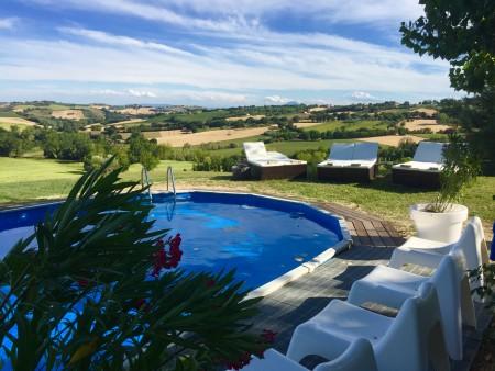 Huizen In Italie : Te huur bed and breakfast casa del fonte marche corinaldo hui